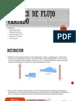 Canales flujo variado Michell Aperador, Miguel Bracamonte, jose daniel de la cruz,maria jose gonzalez y oscar lozano.pptx