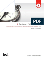 Livre Blanc Revisions ISO Importance Du Leadership