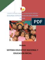 C.6 El Sistema Educativo Peruano y Educacion Inicial