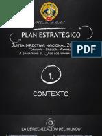 Plan Estrategico Uso 2019-2022