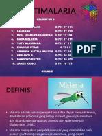 Kel. 3 Antimalaria