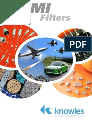 Chips /& Arrays 1206 470pF 100v C0G 20/% 3-Term C Filter 100 pieces EMI Filter Beads