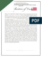 MACN-A003_Declaration of Moorish Sovereign Trust