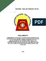 Nombramiento 276 - 02 Reglamento
