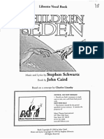 Children of Eden Act I