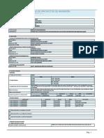 Ficha Técnica Estándar de i.E. Inicial
