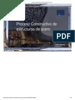 proceso constructivo de estructuras metalicas