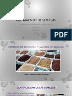 Tratamiento de Semillas y Metodos de Siembra