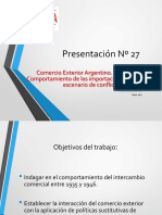 Comercio Exterior Argentina