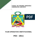 PLAN_12667_Plan_Operativo_Institucional_-_POI_-_2011_-_Municipalidad_Distrital_Crl._Gregorio_Albarracín_Lanchipa_2011.pdf