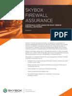 Skybox Firewall Assurance