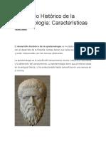 Desarrollo Histórico de La Epistemología