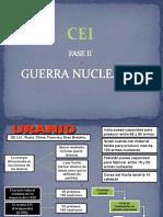 Guerra por el Uranio. Centro de estudios de inteligencia. SEBIN