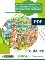 Manejo Forestal Comunitario - Guía 02-2019 - Serfor 2019