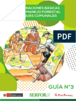 Manejo Forestal Comunitario - Guía 03-2019 - Serfor 2019