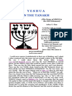 Yeshua in the Tanakh