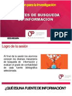 Sesion 02 - Fuentes de Busqueda de Informacion