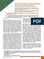Valores críticos de fósforo para trigo, soja y maíz en Molisoles del norte de la región pampeana argentina*