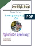 Biotechnology Abhinash