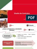 7.a Diseño de Contratos - PRO INVERSIÓN 2015