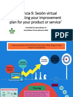 Evidencia 9 Sesión virtual Supporting your improvement plan for your product or service.pptx