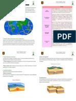 Guia Placas Tectonicas 4to Basico
