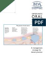 Oral Cancer BDA
