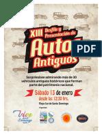 20171221 Afiche Desfile de Autos Antiguos Oi