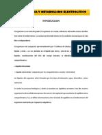 Fisiologia y Metabolismo Electrolitico