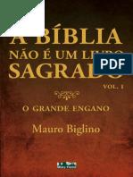 A Biblia nao e um livro Sagrado - Mauro Biglino.pdf