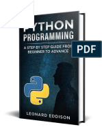 Python Programming_ a Step by Step Guide