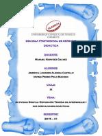 Exposición Teorías de aprendizaje y sus derivaciones didácticas