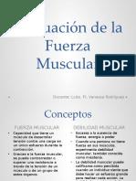 valoracion muscular