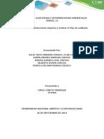Plan de Auditoría Externa