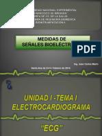 Medidas de Señales Bioelectricas, Clase de La Universidad Nacional Experimental Fm