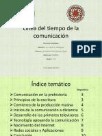 Lneadeltiempo Comunicacin 140821182833 Phpapp01