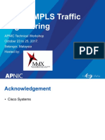 Deploy MPLS Traffic Engineering