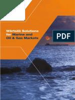瓦锡兰样册brochure Marine Solutions 2016