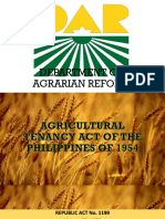 Agrarian Reform JADE