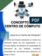 Concepto Básicos de Centros de Cómputo