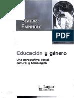 educación y genero