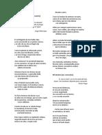 Selección de poemas románticos y posrománticos