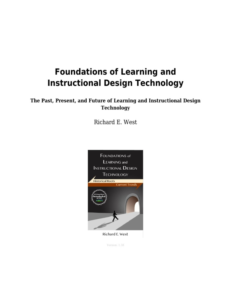 Lidtfoundations Instructional Design Educational Technology