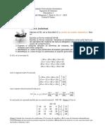 IUA. Matematica I - 2019. AO 5. Partes A, B y C