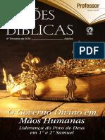 Revista EBD - 4° Trimestre / O governo divino em mãos humanas