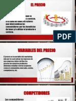 PRECIO,Posicionamiento Del Mercado