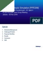 PIPESIM Presentation SAE_20181105