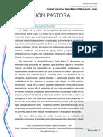 Ensayo. Acción Pastoral. Daymi Javier Cedeño González