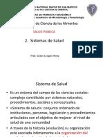 2. Sistemas de Salud en Perú