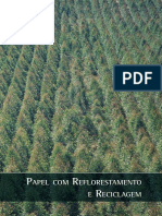 Papel reflorestamento